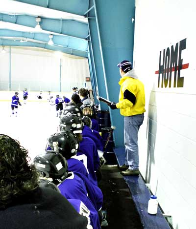 Coaching community hockey